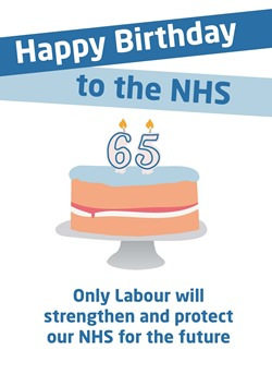 NHS 65th birthday