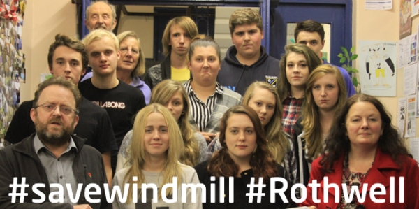 Save Windmill Youth Club in Rothwell